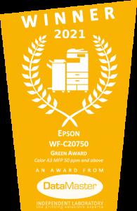 Epson WF-c20750 green award